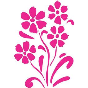 Adesivo De Parede Kapos Flowers 20x30cm