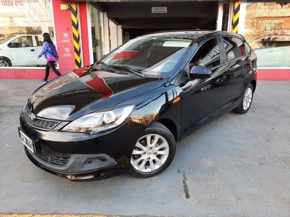 Chery Fulwin 2 Hatchback 1.5 Mt Gps Única Mano Negro 2016