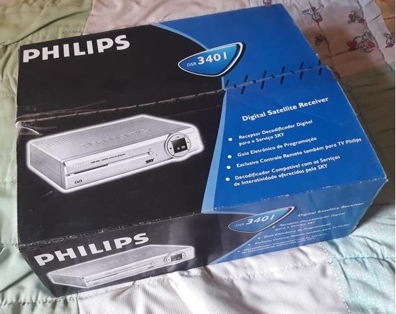 Receptor Decodificador Para Sky - Philips Dsr 3401