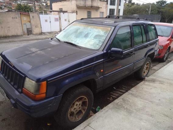 Jeep Grand Cherokee Limited 5.2 V8 95.000km Azul R$10mil