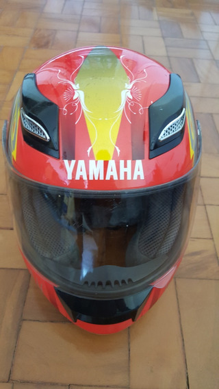 Capacete Yamaha + Luvas X11 + Capa De Chuva