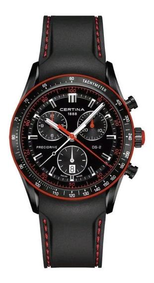 Reloj Cronógrafo Ds 2 Certina Para Hombre C024-447-17-051-33
