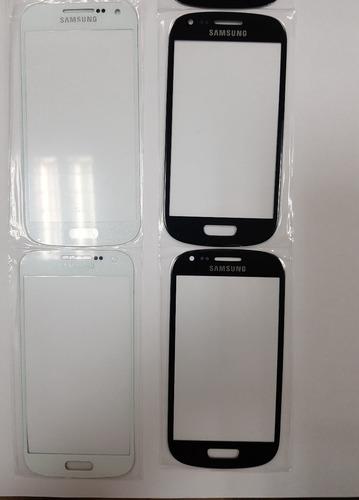Micas Samsung S3 Negra Y Blanco Y S4 En Blanco