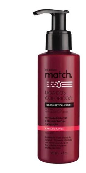 Match Gloss Tonalizante Cabelos Ruivos O Boticário