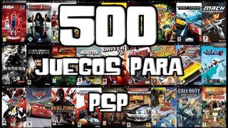 Juegos De Psp (500 Juegos)