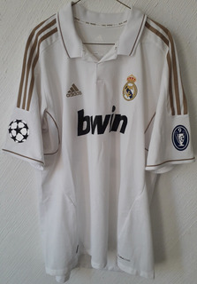 Jersey Real Madrid 2011-2012 Dorada Xl Higuain Argentina
