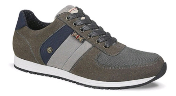 Zapatos Casual Pepe Jeans Gris Retro 2692883