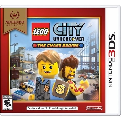 Lego City Undercover The Chase Begins 3ds Mídia Física