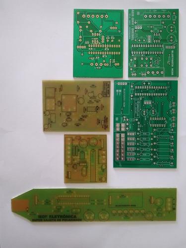 Imagem 1 de 4 de Projetos De Circuitos Eletrônicos Completos Com Programa