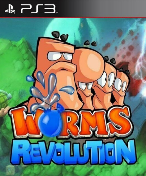 Worms Revolution - Ps3 Psn Play 3