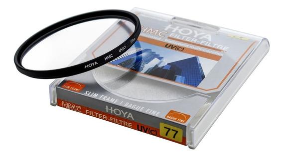 Filtro Uv Hmc Hoya 77mm Para Lente Canon, Nikon ...