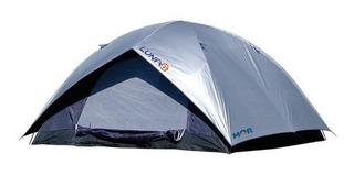 Barraca Camping Iglu Luna 6 Pessoas 2,60x2,60x1,65 Mts Mor