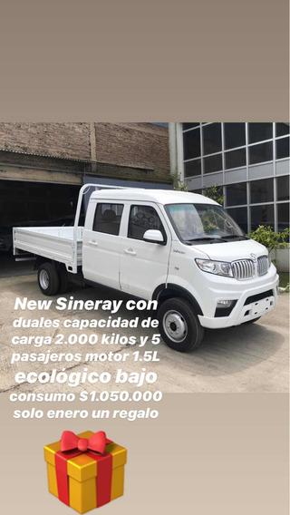 Shineray T32 Doble Cabina Duales