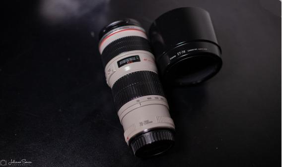 Lente Canon 70-200 F/4l Usm Sem Is