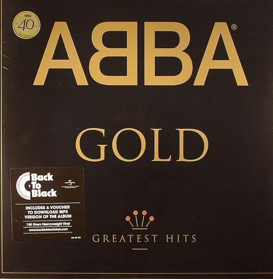 Lp Vinilo Doble Abba Gold (greatest Hits) Nuevo Sellado