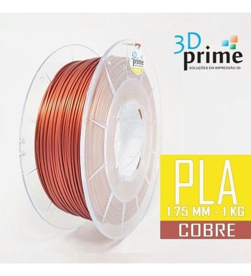 Filamento 3d Prime Pla Cobre 1,75mm 1kg