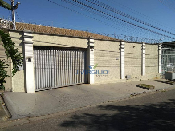 Casa Com 4 Quartos À Venda, 400 M² Por R$ 700.000,00 - Jardim América - Goiânia/go - Ca0160