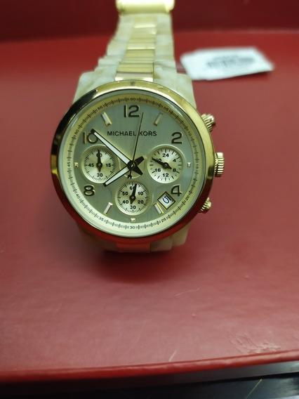 Relógio Michael Kors Dourado Mk 5139 Original Confeccionado