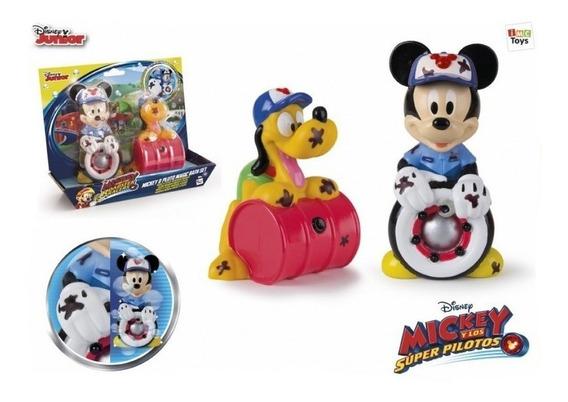 Disney Mickey Clubhouse Junto A Pluto Manchitas Int 182790