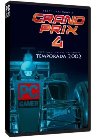 Grand Prix 4 (temporada 2002) - Pc Dvd - Frete 8 Reais