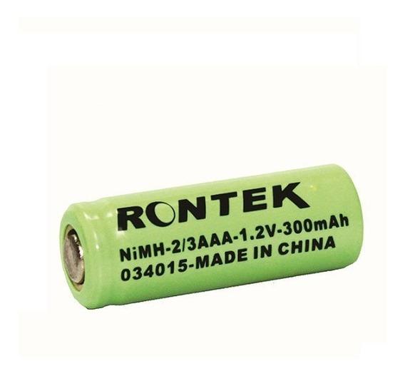 Bateria Recaregável Nimh S/top 1,2v 300mah 2/3aaa Emb. 4 Pçs