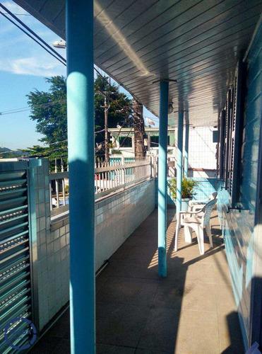 Casa Com 6 Dorms, Morro Nova Cintra, Santos - R$ 580 Mil, Cod: 12828 - V12828