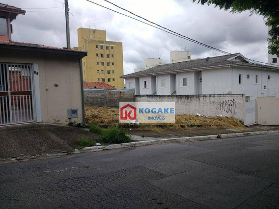 Terreno À Venda, 288 M² Por R$ 288.000,00 - Jardim América - São José Dos Campos/sp - Te0822
