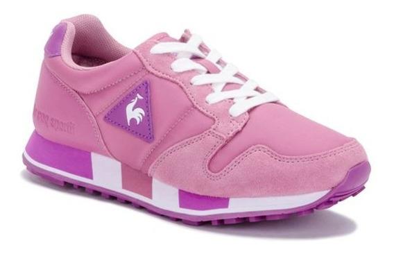 Zapatillas Le Coq Sportif Omega Nylon Pink Violet