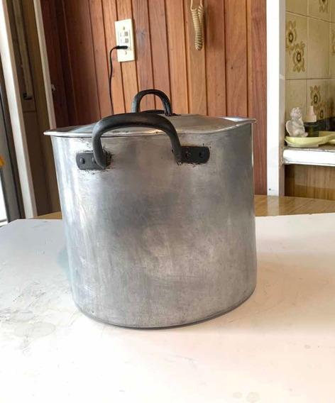 Olla De Aluminio Con Tapa Para Cocina