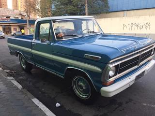 Ford F100/ 79 Placa Preta
