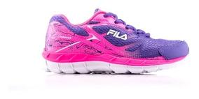 Tênis Fila Feminino Infantil | Insanus | Violeta/pink/branco