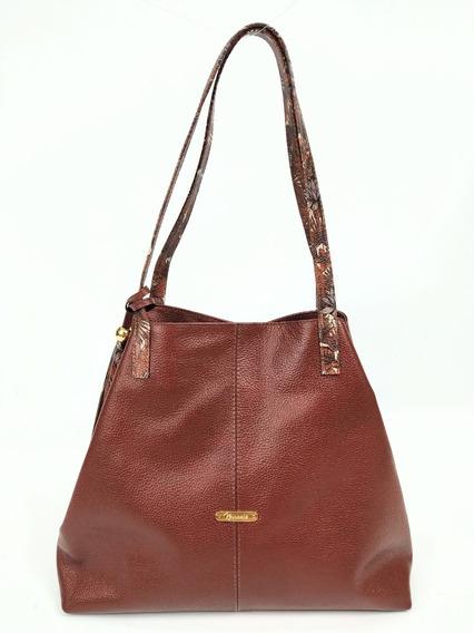 Bolso Women Bag Cartera En Cuero 100% Juvenil Moda Mujer