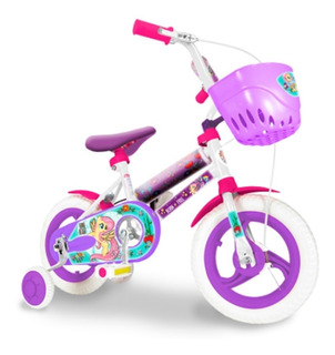 Bicicleta Infantil 12 Rueditas Peppa Pig Unibike Babymovil