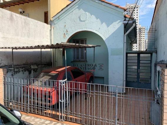 Terreno À Venda, 240 M² Por R$ 620.000 - Mooca - São Paulo/sp - Te0057