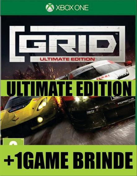 Grid Ultimate Edition Xbox One Mídia