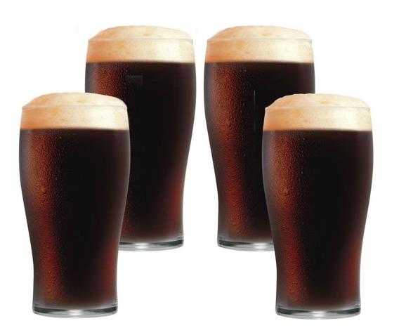Copo Cerveja Copo Água - Pint De 595ml Jogo 4 Pcs
