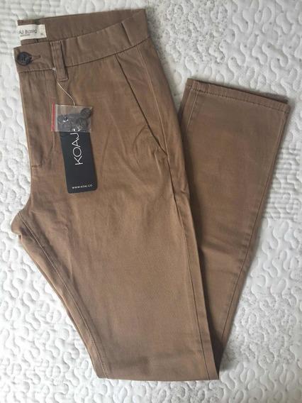 Pantalon Koaj Chino 12 Super Slim 3 18 Mercado Libre