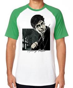 Camiseta Luxo Harry Potter Varinha Bruxo Magico Filme Magia