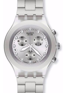 Reloj Swatch Blooded Silver Svck4038g | Original