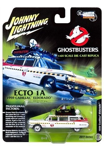 Johnny Lightning Ecto 1a Ghostbusters 1/64 Supertoys