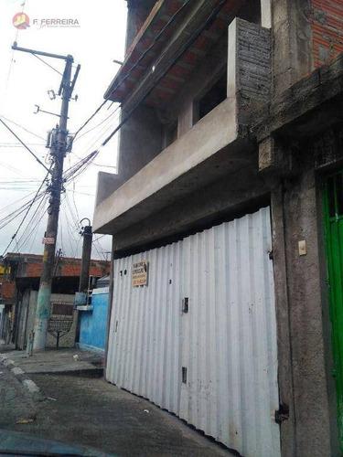 Imagem 1 de 10 de Casa Com 1 Dormitório À Venda, 50 M² Por R$ 150.000 - Jardim Valo Velho - Itapecerica Da Serra/sp - Ca0313