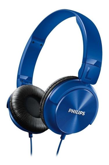 Fone De Ouvido Philips Azul Shl3060