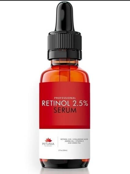 Retinol + Ácido Hialurônico + Óleo De Jojoba E Vitamina E