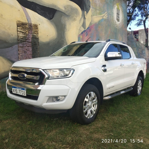 Ford Ranger Limited 4x4. Único Dueño. Descuenta Iva