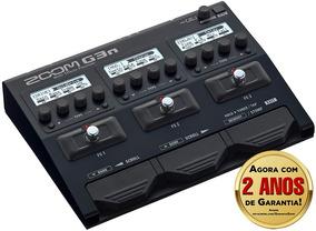 Pedaleira Zoom G3n Multi-effects Para Guitarra