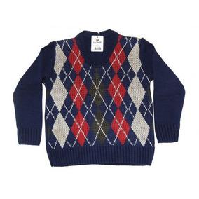 Blusa De Lã Infantil Menino - Duwell