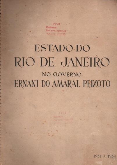 Livro Estado Do Rio De Janeiro Do Gov Ernani Do Amaral 1951