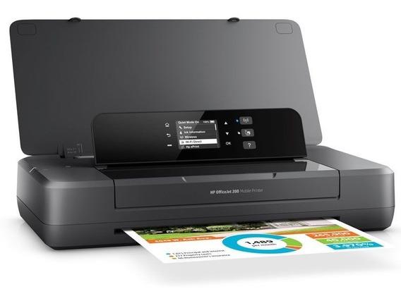 Impressora Hp Jato De Tinta Mobile Port Wifi Direct Oj 200