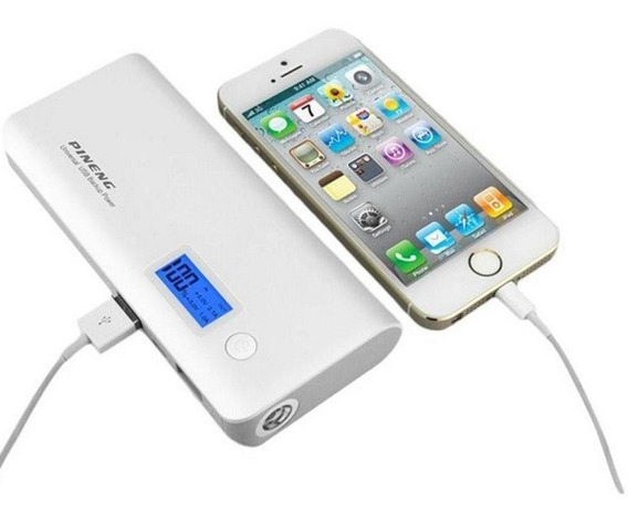 Carregador Port Power Bank Pineng Pn-968 10000mah Bc