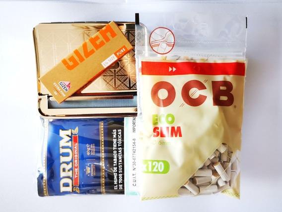 Máquina Automática Ocb Filtros Tabaco Las Hojas Kit Inicial